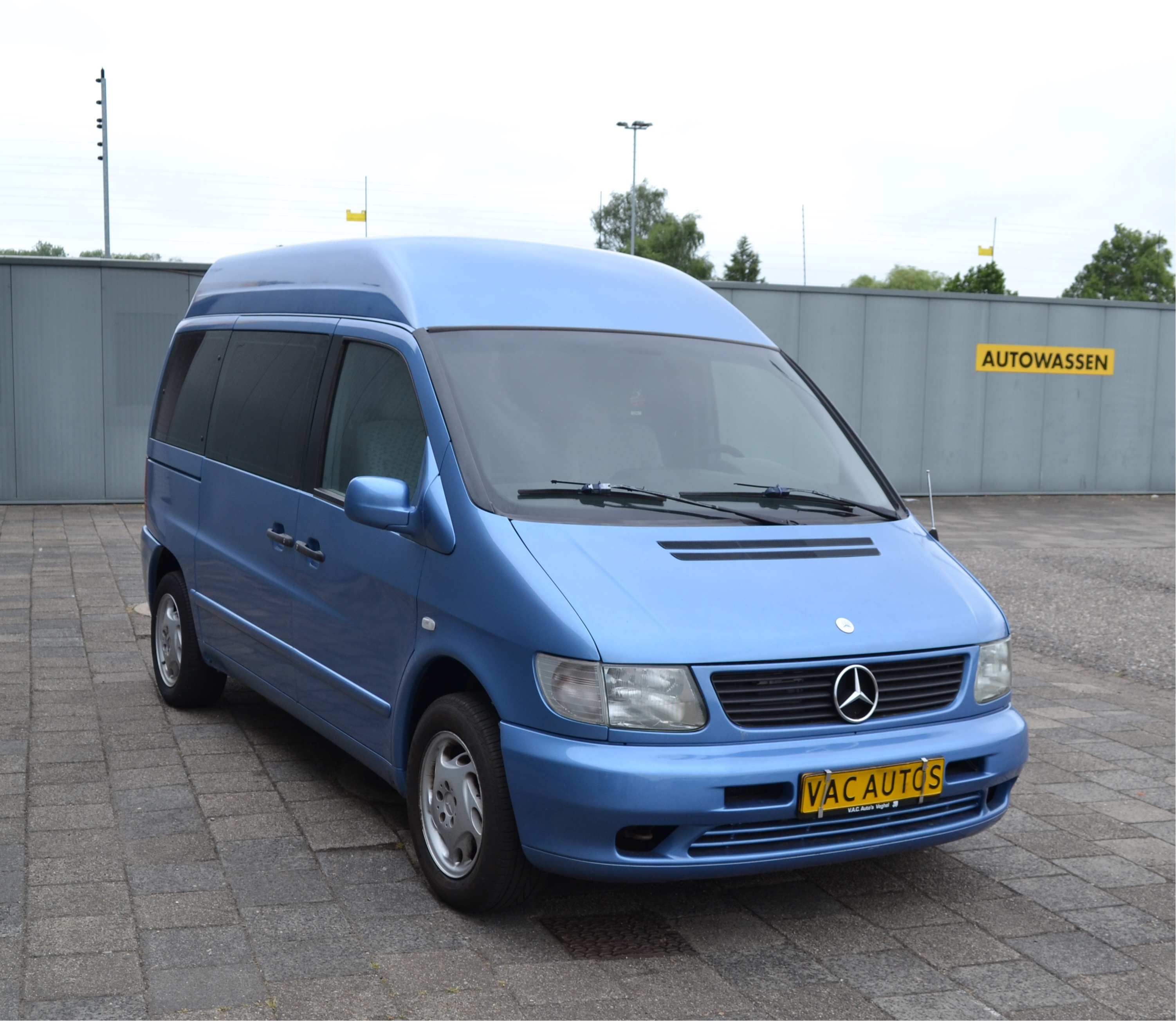 mercedes vito v230 camper automaat nieuwe interieur vac. Black Bedroom Furniture Sets. Home Design Ideas