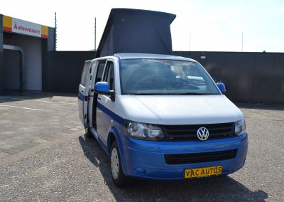 In productie – Volkswagen T5 2.0 TDI 2010 Slaaphefdak