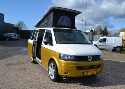 In productie – Volkswagen T5 Retro 2.0 TDI 2016 Two Tone