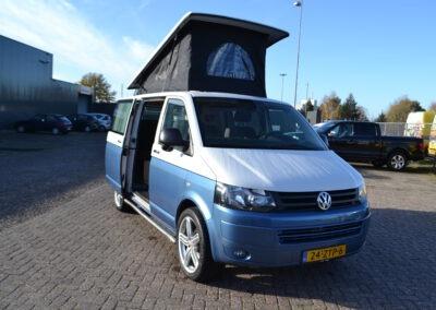 Volkswagen T5 Retro 2.0 TDI 2013 Two Tone Nieuw interieur & hefdak!