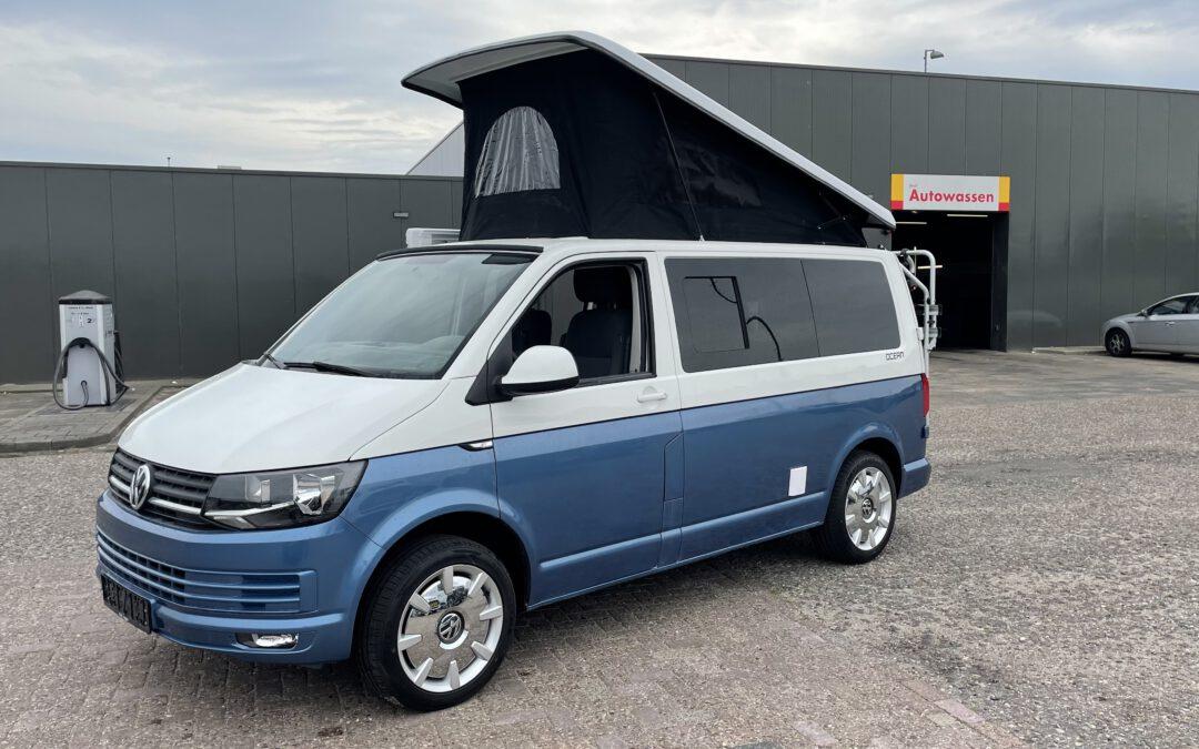 Volkswagen T6 Retro 2018 2.0 TDI EURO 6 Nieuw interieur & Slaaphefdak!